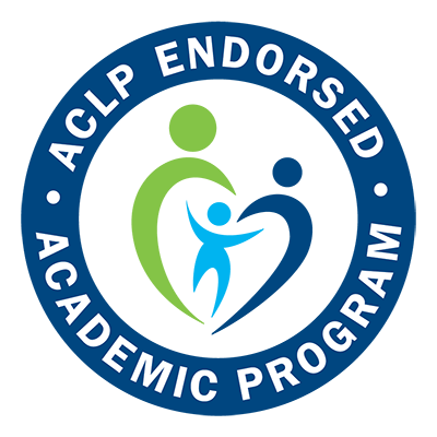 ACLP endorsed academic program badge